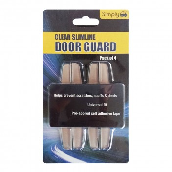 Image for Clear Slimline Door Guards - Pack 4