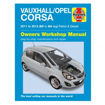 Image for Vauxhall/Opel Corsa Petrol & Diesel (11-14) 60 To 64 Manual