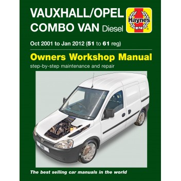 Image for Vauxhall Combo Diesel 01-12