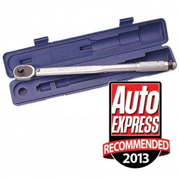 "Image for Draper 1/2""D Ratchet Torque Wrench - 30-210Nm/22.1-154.9lb.ft"
