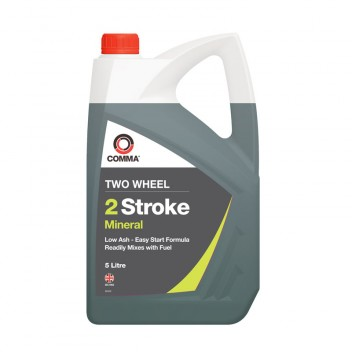 Image for Two Wheel 2 Stroke Mineral Oil - 5 Litres