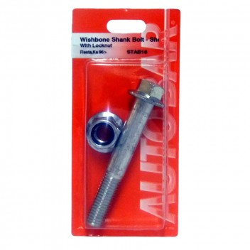Image for Wishbone (Short) Shank Bolt with Locknuts (Fiesta, KA)