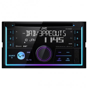Image for JVC KW-DB93BT Double Din DAB Stereo - Bluetooth/Android/Apple/USB