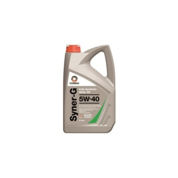 Image for Comma Syner-G 5w-40 Motor Oil - 5 Litres