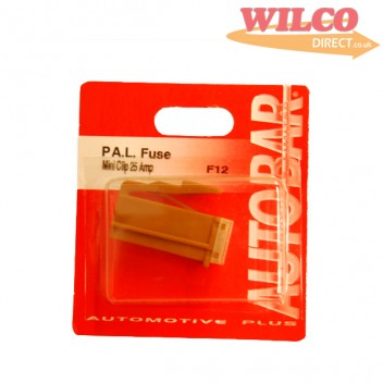 Image for Mini Pal Fuse Clip Type 25 Amp - Brown
