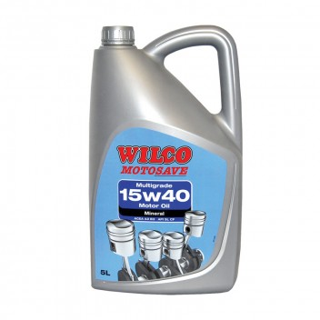 Image for Wilco 15w-40 Multigrade Motor Oil - 5 Litres