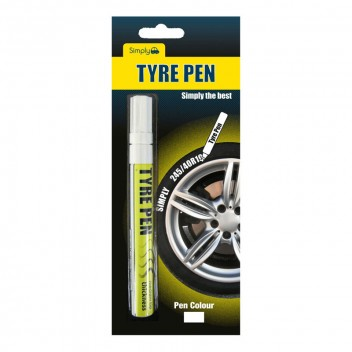 Image for White Tyre Pen