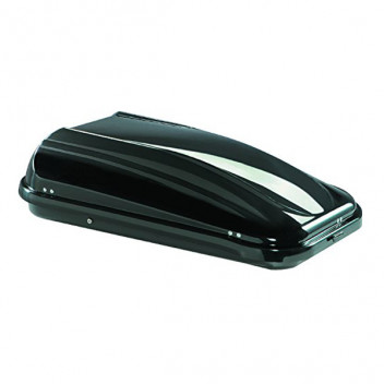 Image for Summit Gloss Metallic Dark Grey Roof Box - 320 Litre
