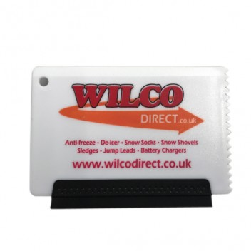 Image for Wilco Pocket Size 2-in-1 Ice Scraper