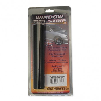 Image for Windscreen Tinted Sun Strips - Limo Black