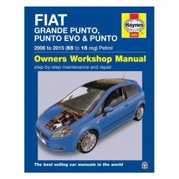 Image for Fiat Grande Punto, Punto Evo and Punto Petrol Haynes Repair Manual (2006-15)