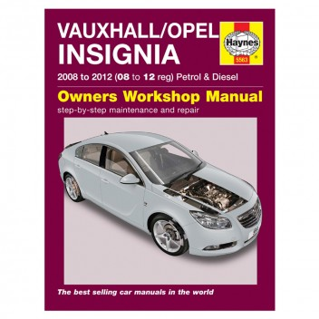 Image for Vauxhall/Opel Insignia Manual 08-12