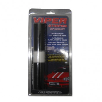 Image for Viper Stripes Styling Kit - Black 4m x 80cm