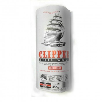Image for Clipper Steel Wool - Medium - 450g