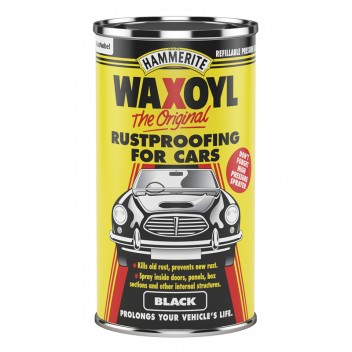 Image for Waxoyl Black Round Can 2.5 Litre