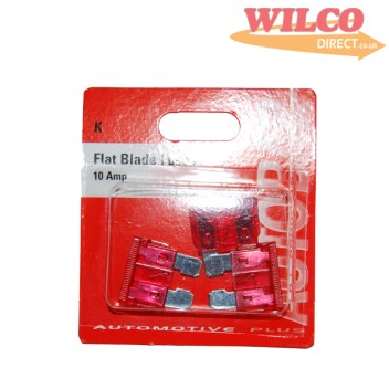 Image for Flat Blade Fuses 10 Amp - Pack 3