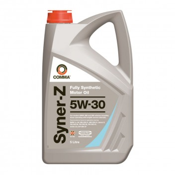 Image for Comma Syner-Z 5w-30 Motor Oil - 5 Litres