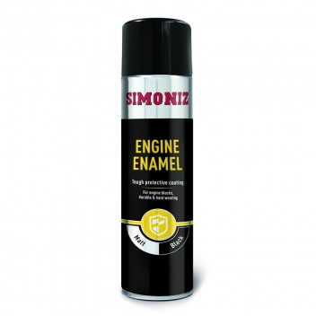 Image for Simoniz Engine Enamel Paint 500ml Matt Black