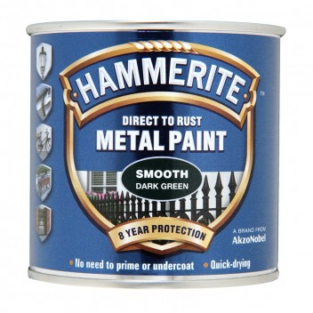 Image for Hammerite Metal Paint - Smooth - Dark Green - 250ml