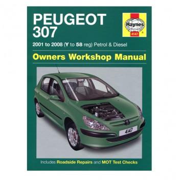 peugeot 307 haynes manual wilco direct rh wilcodirect co uk Peugeot 3007 Peugeot 3007
