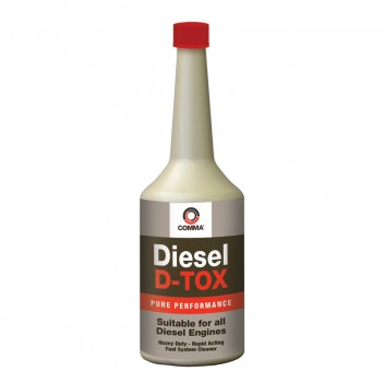 Image for Comma Diesel D-TOX - Heavy Duty Fuel System Cleaner - 400ml