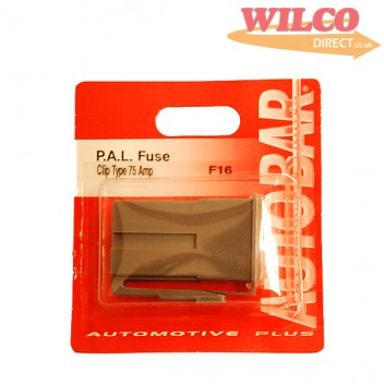 Image for Pal Fuse Clip Type 75 Amp - Grey