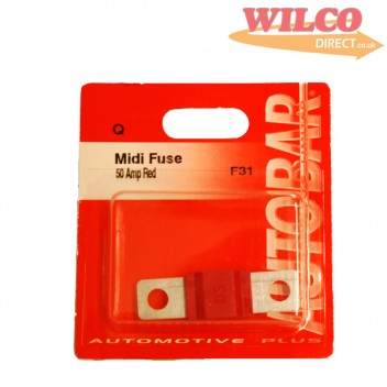 Image for Midi Fuse 50 Amp - Red
