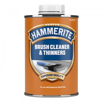 Image for Hammerite Brush Cleaner and Thinners - 1 Litre Tin