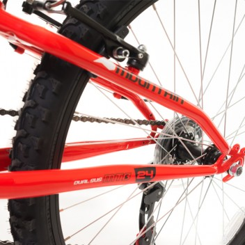 "Image for Dual Suspension Mountain BiKE - 24"" Wheels"