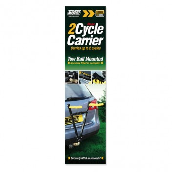 Image for Tow Ball Mounted Cycle Carrier - 2 Cycles