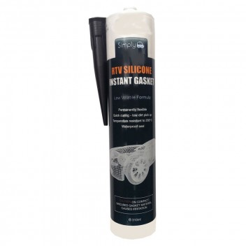 Image for Black RTV Silicone Instant Gasket 310ml
