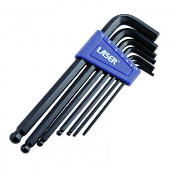 Image for Hex Key Set Ball End MM - 7 Piece