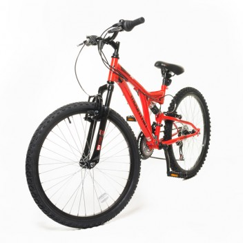 "Image for Dual Suspension Mountain BiKE - Red - 24"" Wheels"