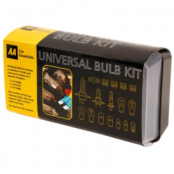 Image for AA Universal Bulb and Fuse Kit - 17 Piece