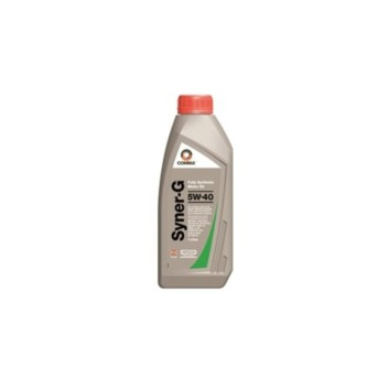 Image for Comma Syner-G 5w-40 Motor Oil - 1 Litre