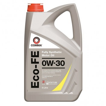 Image for Comma Eco-FE Plus 0W-30 Fully Synthetic Oil - 5 Litres