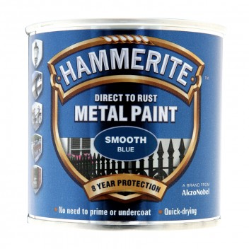 Image for Hammerite Metal Paint - Smooth - Blue - 250ml