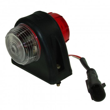 Image for Red/White Side Marker Lamp