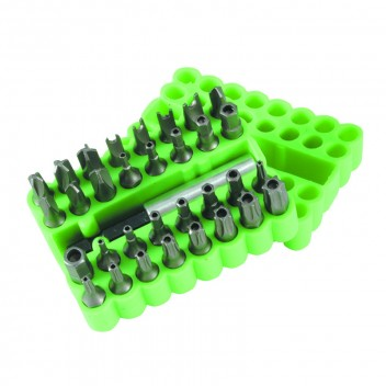 Image for Tamperproof Bit Set - 33 Piece