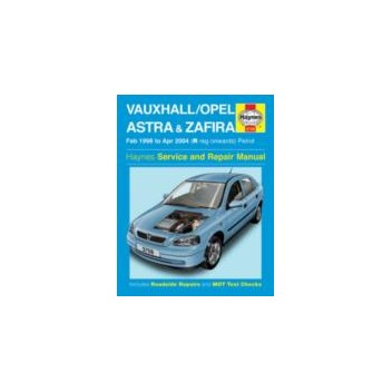 Image for Vauxhall Astra & Zafira Petrol - Haynes Manual