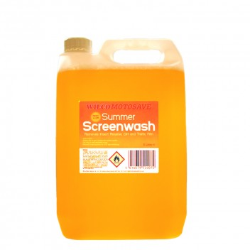Image for Wilco Screenwash Summer Readymix - 5 Litres