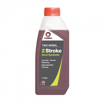 Image for Two Wheel 2 Stroke Semi Synthetic Oil - 1 Litre