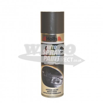 Image for Holts Grey Metallic Spray Paint 300ml (HGREYM17)