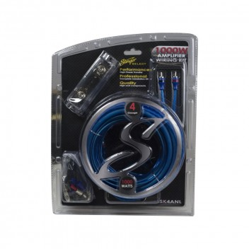 Image for Stinger 4GA Complete Wiring Kit - 1000w