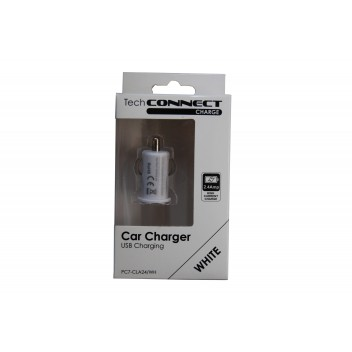 Image for TechConnect USB Car Charger - Black