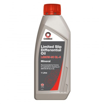 Image for Comma LS80W-90 Limited Slip Gear Oil - 1 Litre