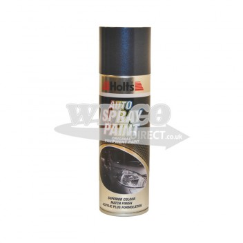 Image for Holts Dark Blue Metallic Spray Paint 300ml (HDBLUM08)