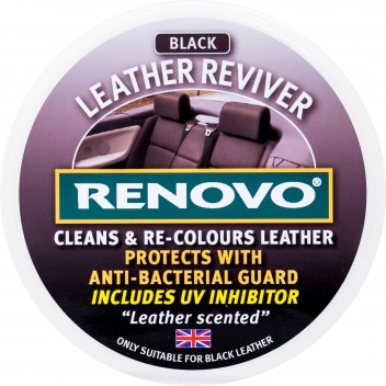 Image for Renovo Leather Reviver Black 200ml