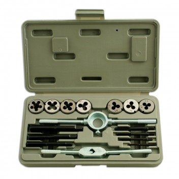 Image for Tap & Die Set- MM - 16 Piece