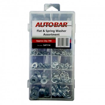 Image for Assorted Flat and Spring Washers - Pack 790
